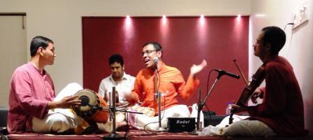 Kalyanapuram S.Aravind's concert