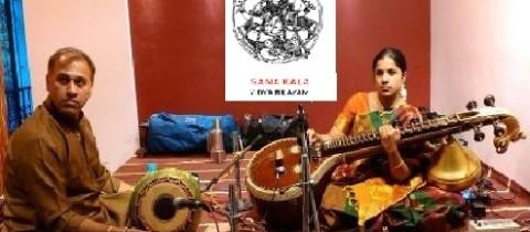 Vidyanandi's Veena concert