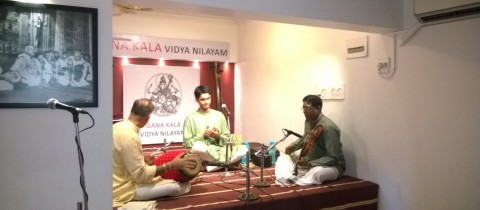 Ashwath Narayanan's Concert on 1st June 2014