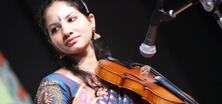 Shreya Devnath -Violin Solo  on  21 Sep 2014